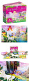 24 Piece Floor Puzzle & Book - Fantasy Land 4