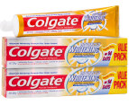 2 x Colgate Advanced Whitening Toothpaste 220g 1