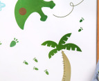 Pterodactyl & Palm Tree Decal/Sticker 2
