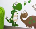 Dinosaur & Palm Tree Wall Decal 2