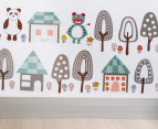 Trees and Animals Wall Decal/Sticker 2