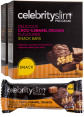 3 x Celebrity Slim Snack Bars Choc-Caramel Crunch 150g 5pk 4