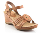 Hush Puppies Women's Malta Quarter Strap - Tan 1
