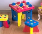 Kiddo Zone Foam Tic Tac Toe Table & Chairs 1