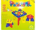 Kiddo Zone Foam Tic Tac Toe Table & Chairs 3