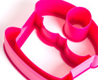 Lunch Punch Set of Four Sweet Sandwich Cutters - Pink/Blue 2