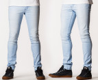 Riders by Lee Men's R0 Super Skinny Jeans - Bleach Blue 1
