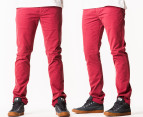 Riders by Lee Men's R2 Slim & Narrow Chino - Burnt Red 1