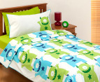 Monsters Organic Kid's Single Quilt Set 1