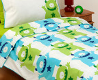 Monsters Organic Kid's Single Quilt Set 2