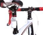 Knog Boomer USB Red LED Rear Bike Light - White 3
