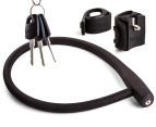 Knog Kransky Cable Bike Lock + Bracket Mount - Black 1
