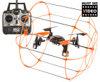 Skywalker 4 Channel 2.4Ghz Quad Copter - Orange video