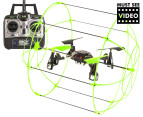 Skywalker 4 Channel 2.4Ghz Quad Copter - Green video