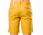 Mr Simple Men's Bailey Shorts - Curry 3