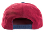 OBEY Men's Posse Snapback Cap - Maroon/Navy 3