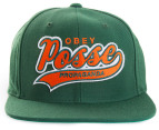 OBEY On Deck Men's Snapback - Dark Green 1