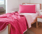 Sheridan Junior Nicoll Single Bed Cover - Fuchsia 3