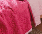 Sheridan Junior Nicoll Single Bed Cover - Fuchsia 2