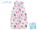 Grobag Alphapinks 0.5 Tog Baby Sleep Bag 1