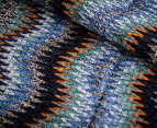 Missoni Women's 190cm Curtain Chenille Scarf - Teal 2