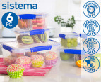 Sistema Klip It Food Storage Container 6-Piece Set 1