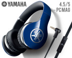 Yamaha HPH-Pro 500 Series Headphones - Blue 1
