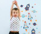 Little Chipipi Moveables Mini Wall Stickers - Outer Space 1