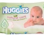 3 x Huggies Natural Care Wipes 64-Pack 2