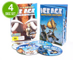Ice Age Mammoth DVD 4-Disc Set (PG) + Activity Book 1