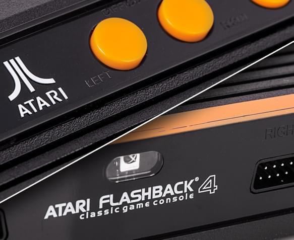 Atari flashback 4 classic game console 3 - Atari flashback 3 classic game console ...