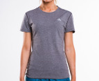 Adidas Women's Ultimate Short Sleeve Tee - Dark Grey 1