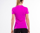 Adidas Women's Ultimate Short Sleeve Tee - Vivid Pink 3