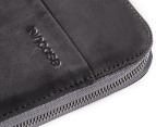 "Incase 13"" Leather Macbook Pro Sleeve - Black/Grey 5"