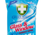 3 x Green Shield Glass & Window Surface Wipes 50pk 2