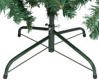 Artificial 1.8m Olive Green Christmas Tree & Ornament Pack  3