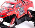 RC RockCrawler King 4 Wheel Drive Truck - Red 2