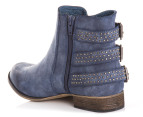 I Love Billy Size EU 36 Pinx Boots - Navy Distressed 3