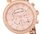 Michael Kors Women's Tortoise Rose Gold Watch 2