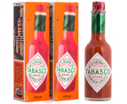 2x Tabasco Brand Pepper Sauce 150mL 1