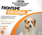 3 x Frontline Original Small Size Dog 0-10kg 3