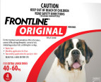 3 x Frontline Original Extra Large Dog 40-60kg 3