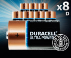 Duracell D Alkaline Batteries 8-Pack 1