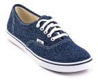 Vans Women's Authentic Lo Pro - Cheetah Denim 1