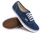 Vans Women's Authentic Lo Pro - Cheetah Denim 4