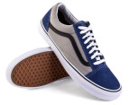 Vans Men's Old Skool - Navy/Grey 3