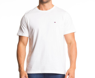 Tommy Hilfiger Men's Flag Crew Tee - White