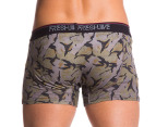 Freshjive Men's Commando Trunks - Army Camo 3