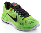 Nike Men's Lunarglide+ 5 - Flash Lime/Black 4