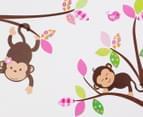Monkeys In A Tree Wall Decal/Sticker 3
